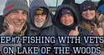 Fishing with Vets on Lake of the Woods